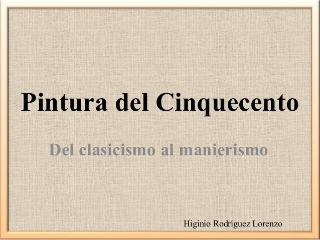 What is the difference in the cinquecento from the quattrocento