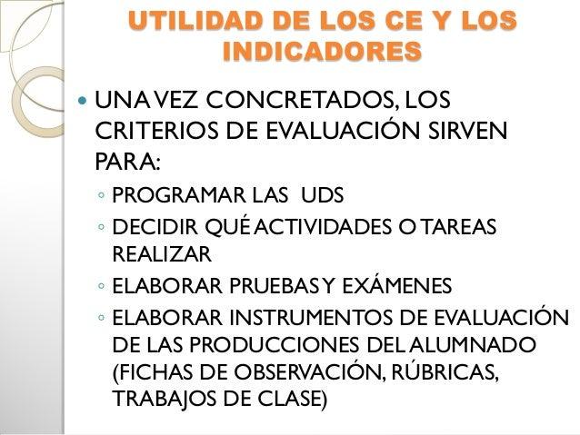 Elaboración de pruebas y exámenescon los criterios de evaluación ¿Losexámenes evalúan competencias? Una de las utilidades...