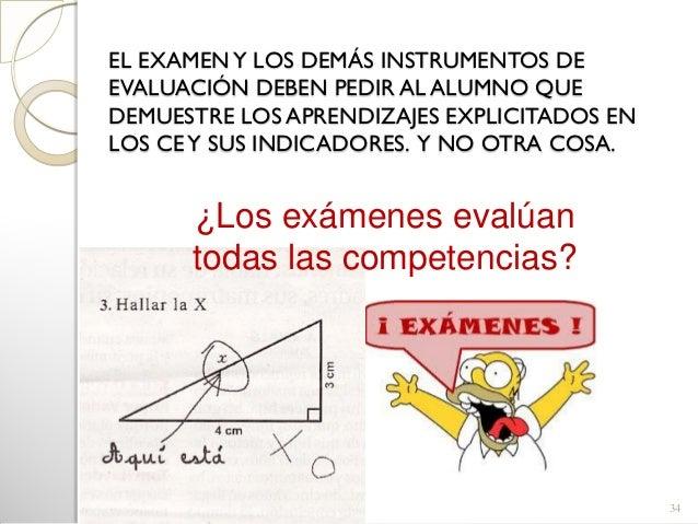  Hay criterios de evaluación que difícilmente sepodrían utilizar para elaborar un examen(expresión oral, cooperación…) P...