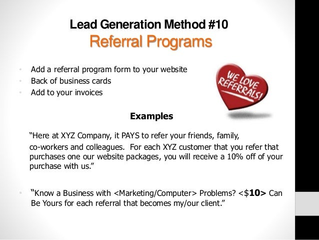 10 Simple and Creative Lead Generation Strategies for Small