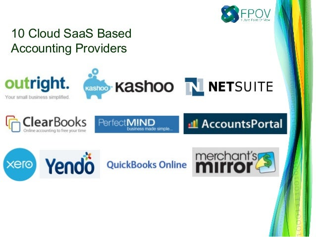10 Cloud SaaS BasedAccounting Providers