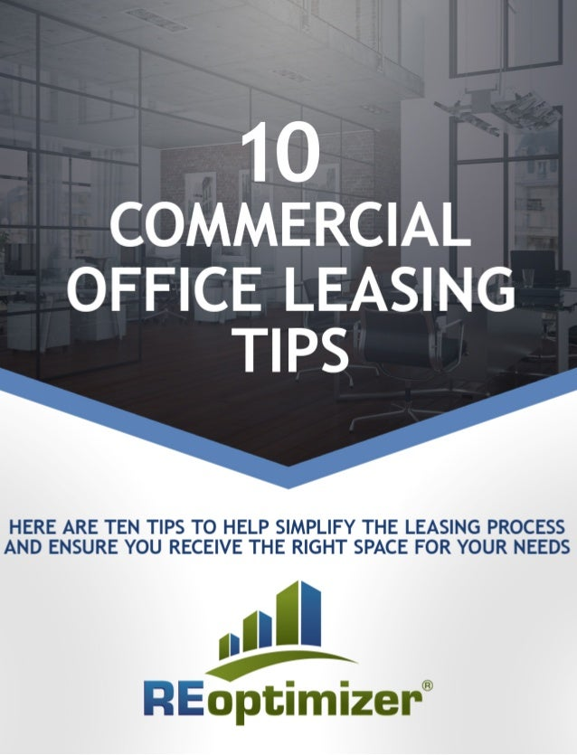 Lease Yourself Plenty of Time Many companies underestimate how long it will take to find the perfect space and reach a fair...