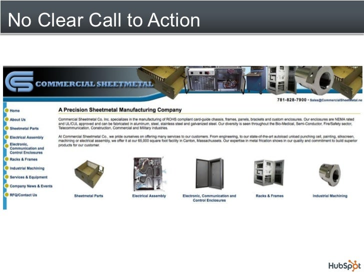10 Common Manufacturing Website Mistakes Slide 2