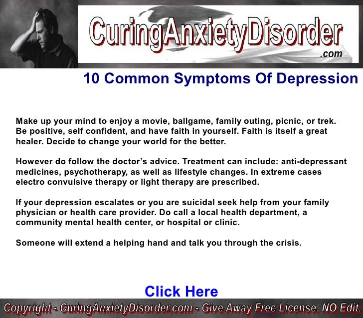 10 common symptoms of depression curing anxiety disorder, Skeleton