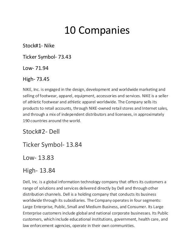 10 Companies Tanay