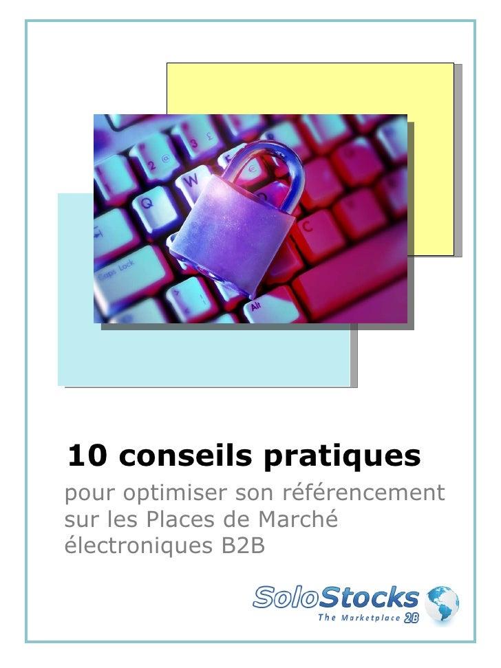 10 conseils pratiques pour optimiser son référencement sur les Places de Marché électroniques B2B