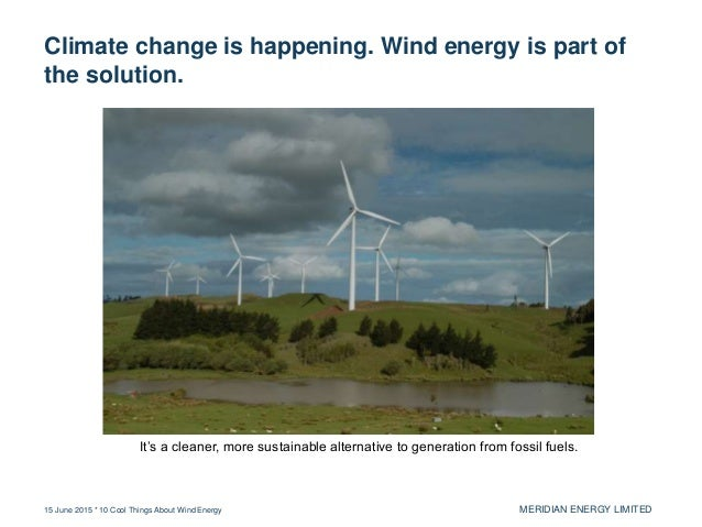 10 Cool Things About Wind Energy Slide 2