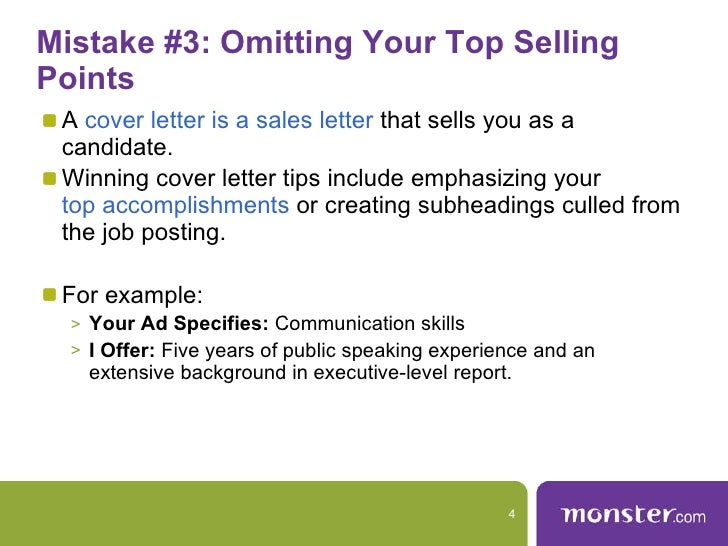 Mistake #3: Omitting Your Top