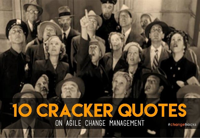 on agile change management