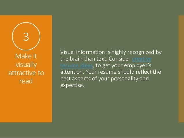 SlideShare  Current Resume Trends
