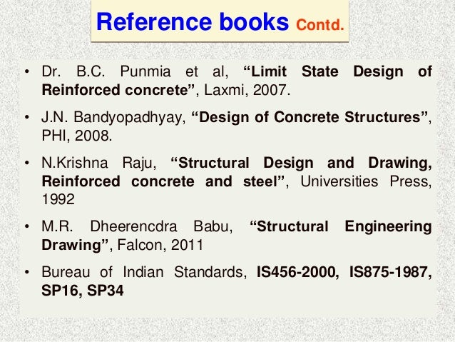 Design And Detailing Of Rc Structures