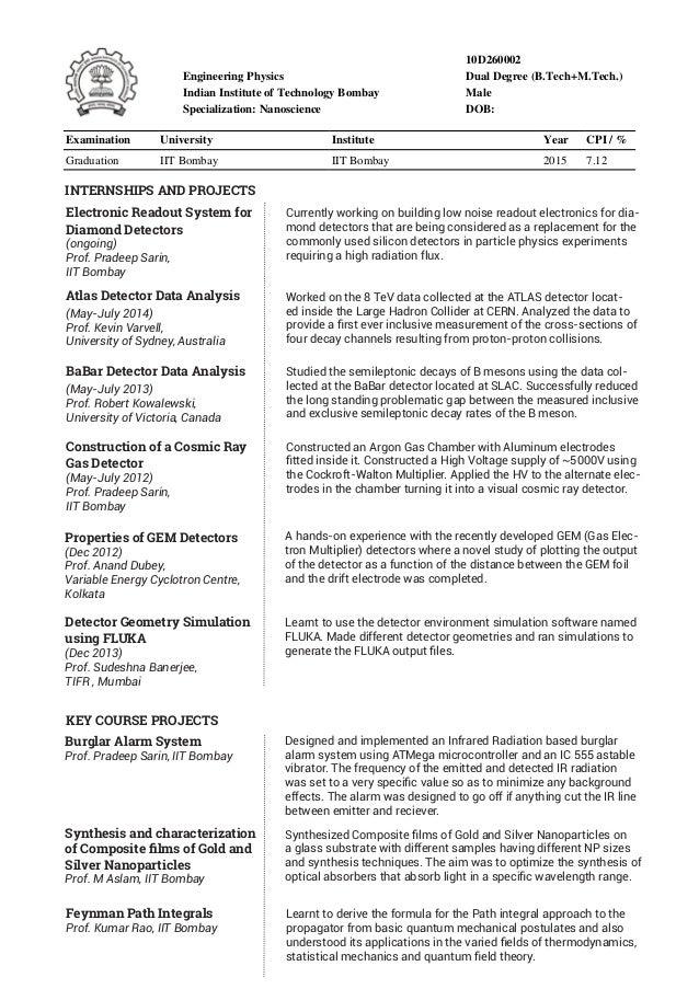 Sample Resume Iit Student. Resume. Ixiplay Free Resume Samples