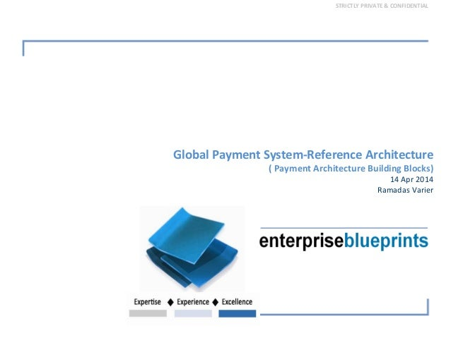 STRICTLY PRIVATE & CONFIDENTIAL Global Payment System‐Reference Architecture ( Payment Architecture Building Blocks)  14 A...