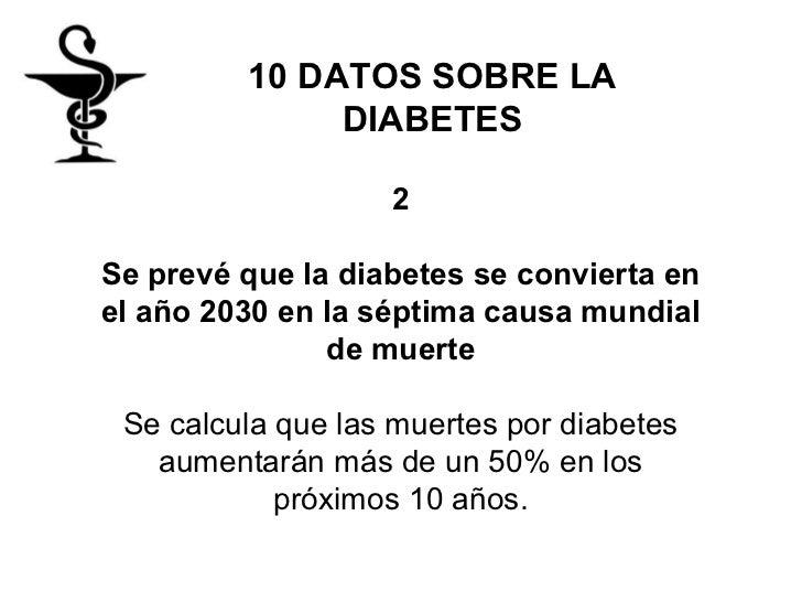 10 datos sobre la diabetes