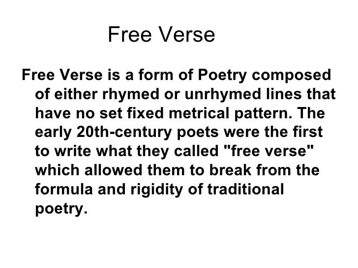 how to write a free verse poem for kids Kids and teens should read and write even when they are out of school to the-sky-is-the-limit free verse plus, in writing poetry.