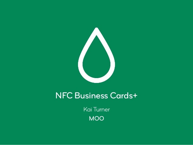 Nfc business cards presentation from bosch connected experience ber nfc business cards kai turner moo colourmoves