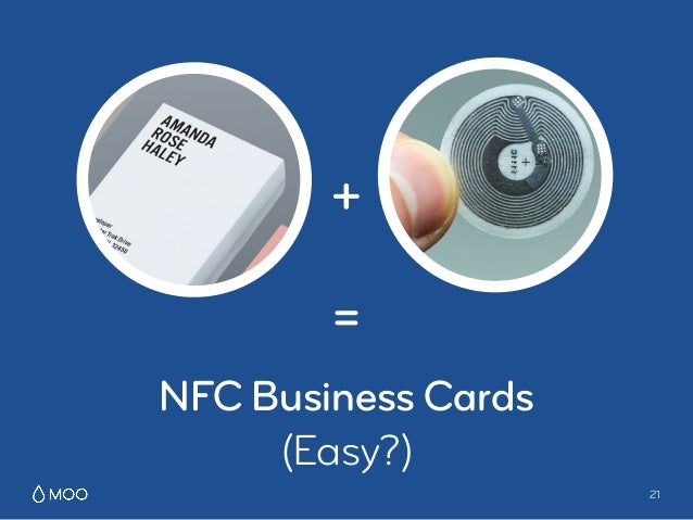 Nfc business cards presentation from bosch connected experience ber 21 nfc business cards easy reheart Gallery