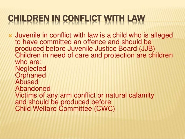 juvenile justice act This topic provides information related to juvenile justice (care and protection of children) act, 2015.