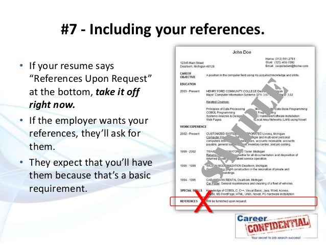 Deadly Resume Mistakes To Avoid At All Costs