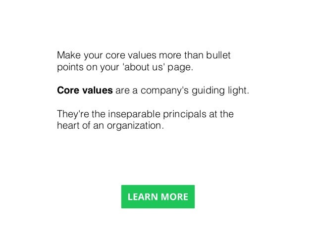 Step 10 Devote Effort and Resources to Building Culture