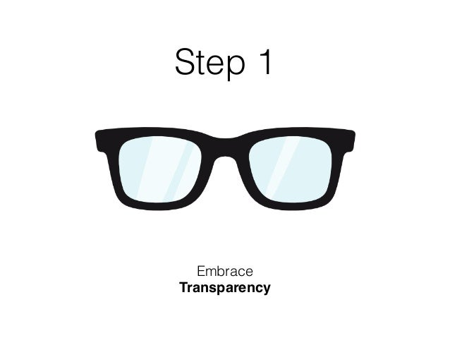 """Transparency is the key to building a strong organizational culture, and an engaged team. Don't ask: """"Is it absolutely nec..."""