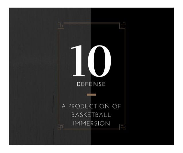 The 10 Basketball Defense Guide: How to Switch Everything