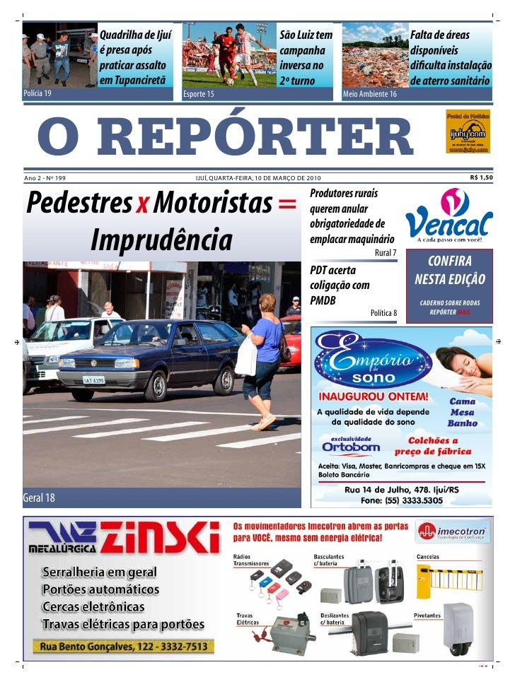 Quadrilha de Ijuí                                 São Luiz tem                          Falta de áreas                  é ...