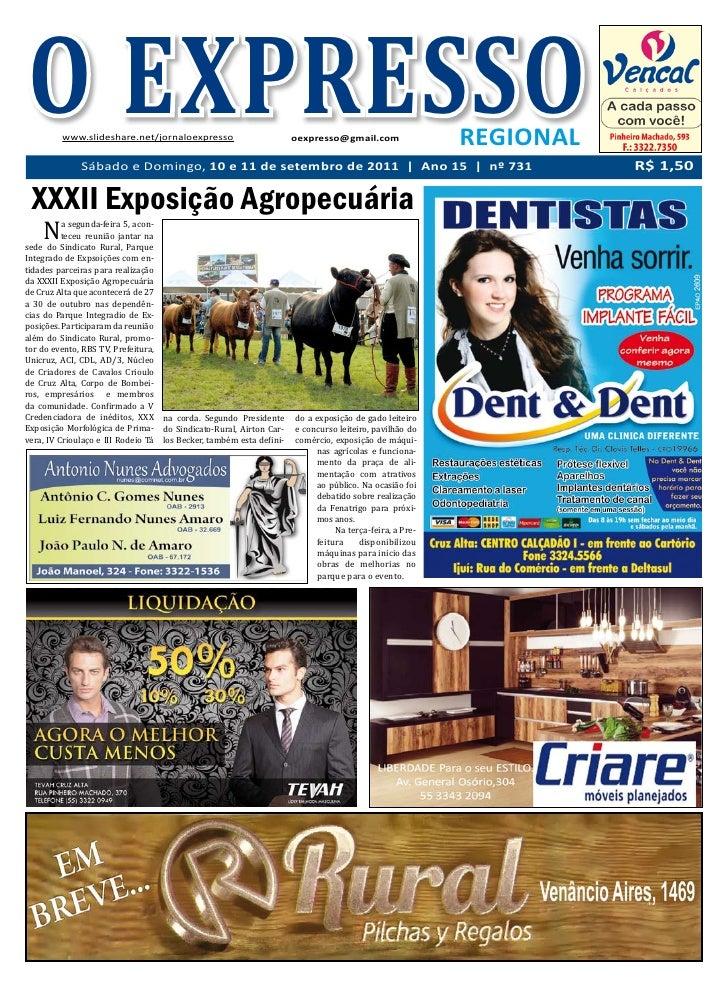 O EXPRESSO         www.slideshare.net/jornaloexpresso                          oexpresso@gmail.com                REGIONAL...