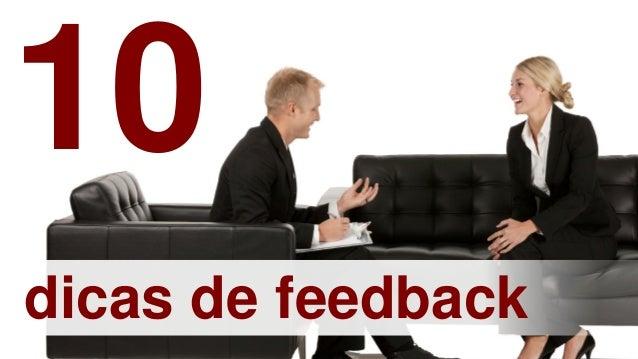 dicas de feedback10
