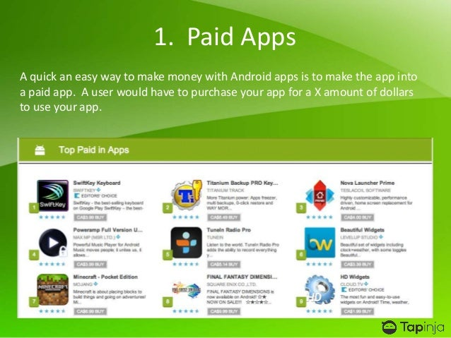 8 mobile apps that can earn you real money