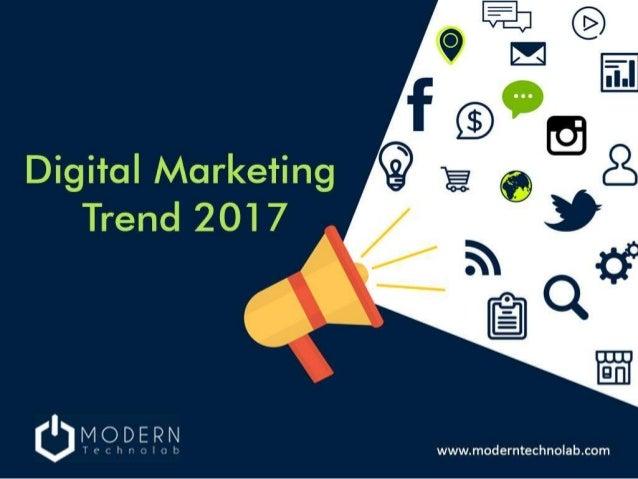 10 digital marketing trend 2017