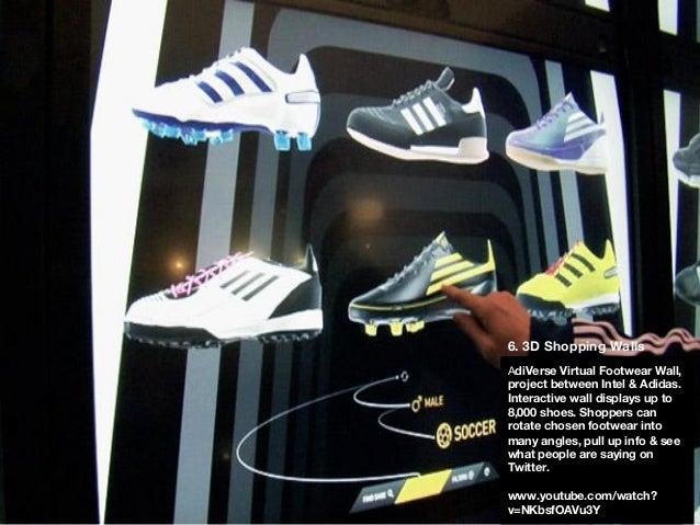 a29b3a2a24be3 Shopping Bags; 7. AdiVerse Virtual Footwear Wall ...