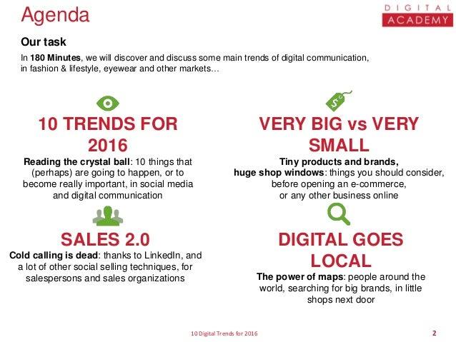 10 Digital Trends for 2016 Slide 2