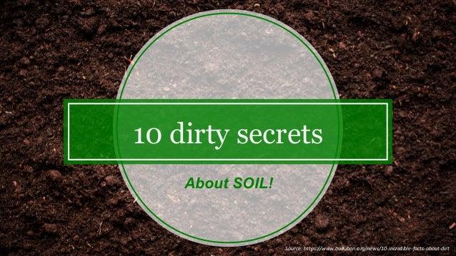 10 Dirty Secrets About Soil