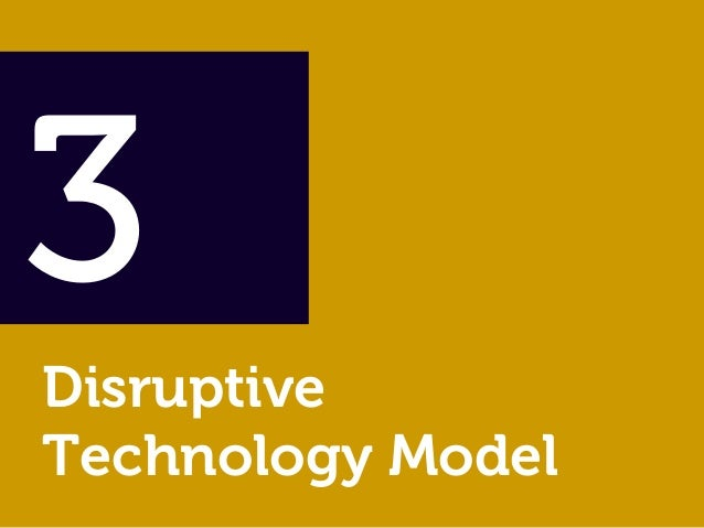 Ready to be disrupted?