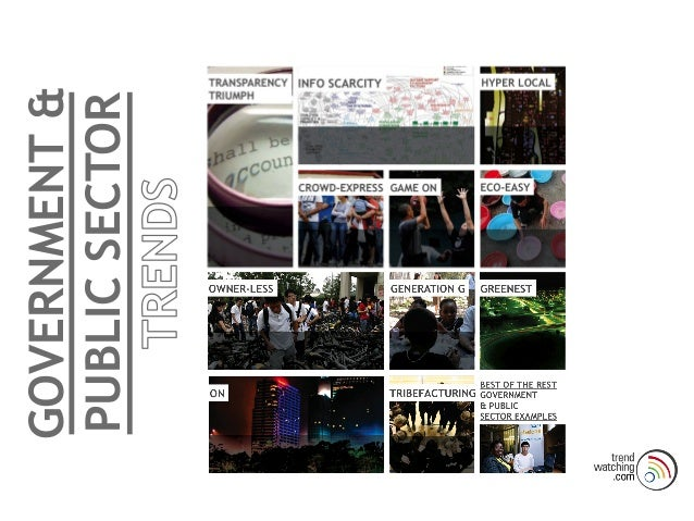 GOVERNMENT & PUBLIC SECTOR!! !! Disruptive Government Model