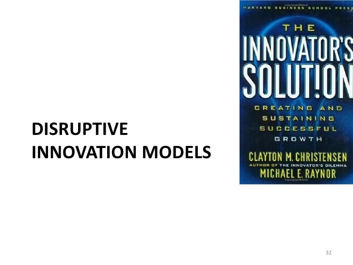 disruptive innovation thesis 2 abstract title: effects of disruptive innovation at an industry level: a case study of mobile network operators authors: rasmus boye and elin bäckman.