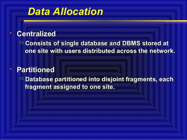 Data replication in distributed database systems pdf995