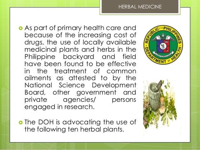 10 DOH Approved Herbal Medicine Slide 2