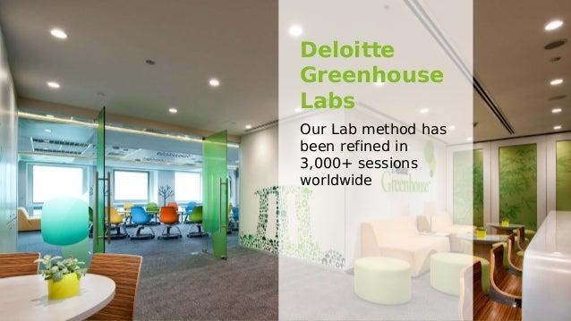 Deloitte Greenhouse - Overview & Approach