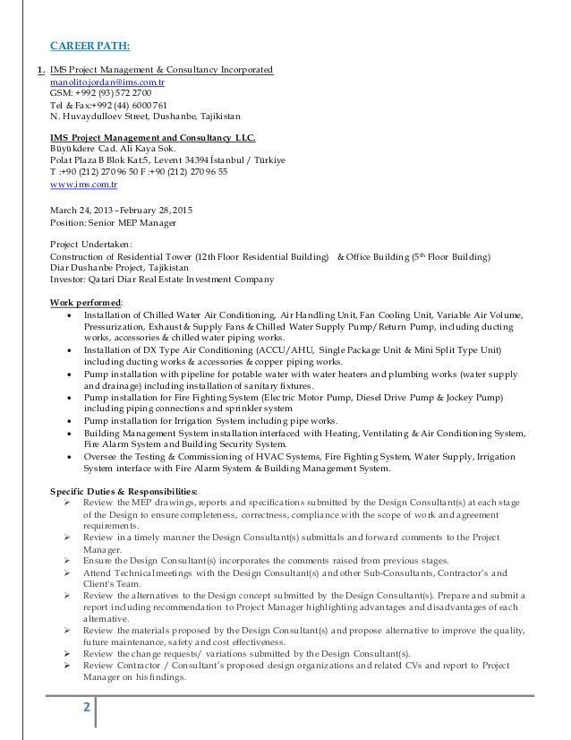 updated resume 2015 junior engineer resume sles