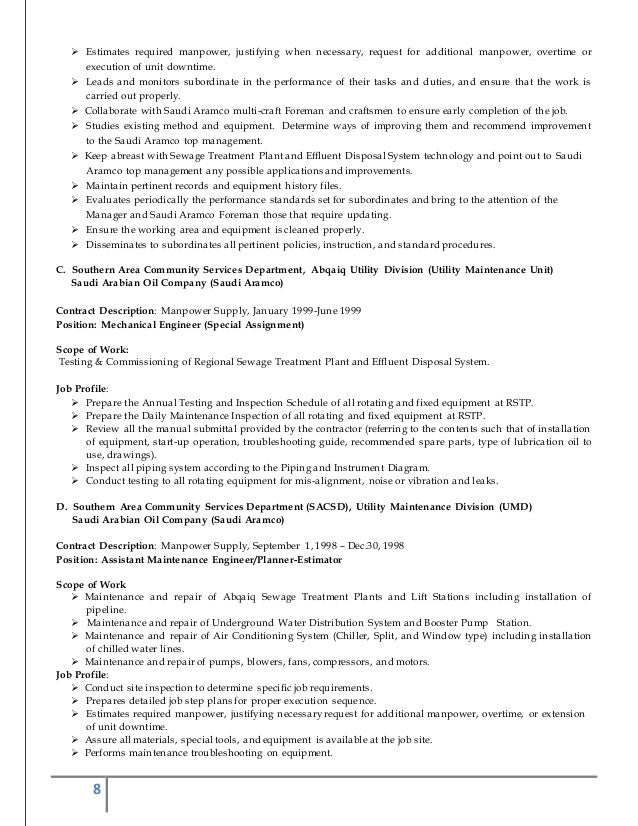 updated resume 2015