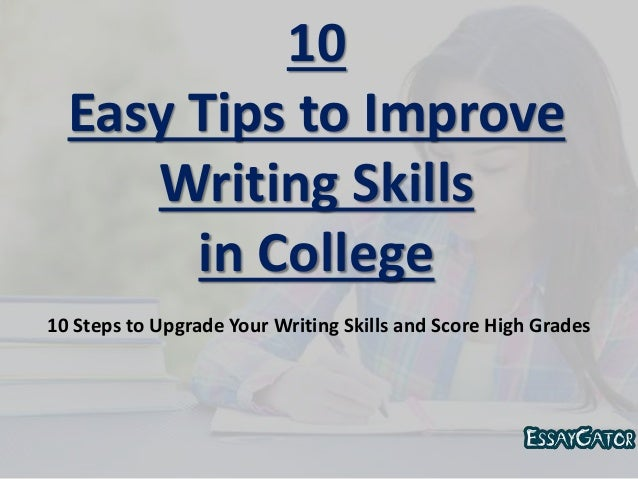 how to improve your writing skills and grammar