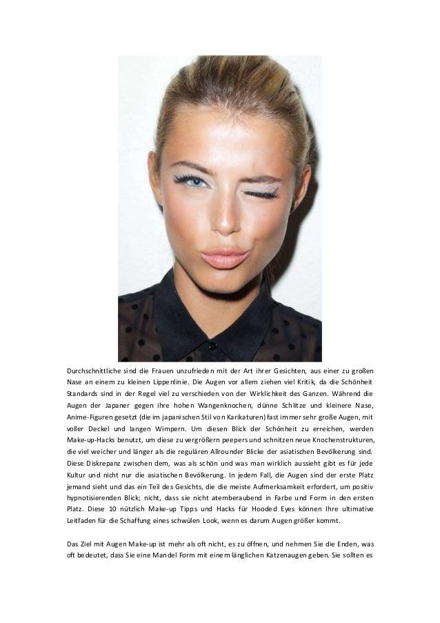 Durchschnittliche sind die Frauen unzufrieden mit der Art ihrer Gesichten, aus einer zu großen Nase an einem zu kleinen Li...