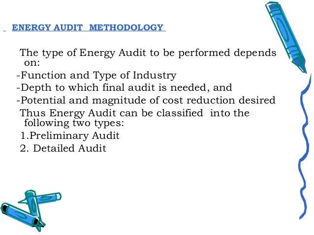 Preliminary Energy Audit MethodologyPreliminary energy audit is a relatively quickexercise to:-Establish energy consumptio...