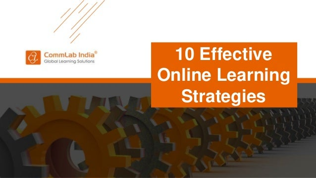 10 Effective Online Learning Strategies