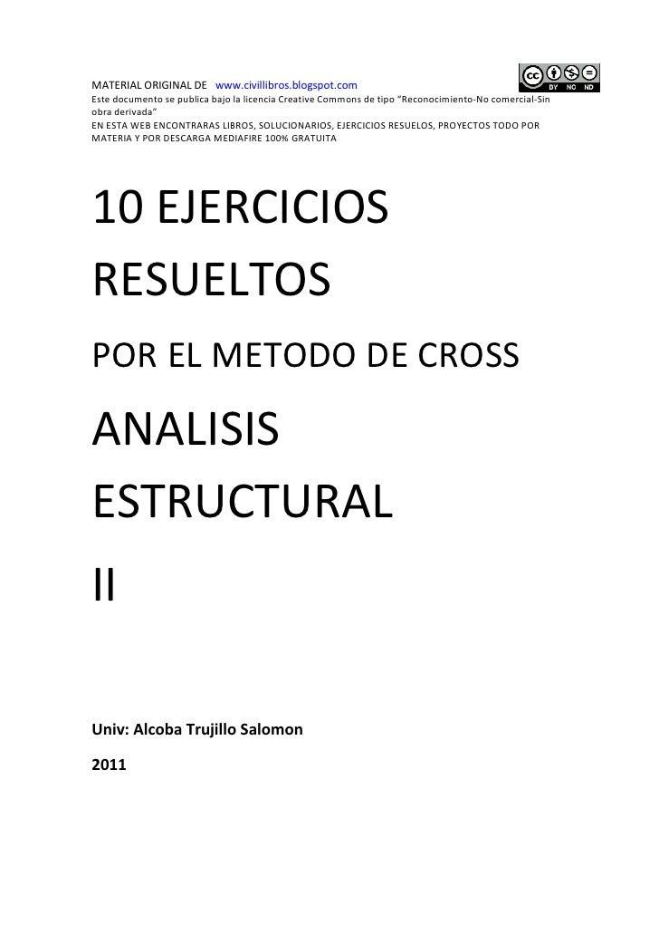 "MATERIAL ORIGINAL DE www.civillibros.blogspot.comEste documento se publica bajo la licencia Creative Commons de tipo ""Reco..."