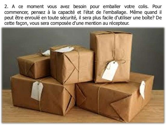 10 etapes pour envoyer un colis a l 39 tranger. Black Bedroom Furniture Sets. Home Design Ideas