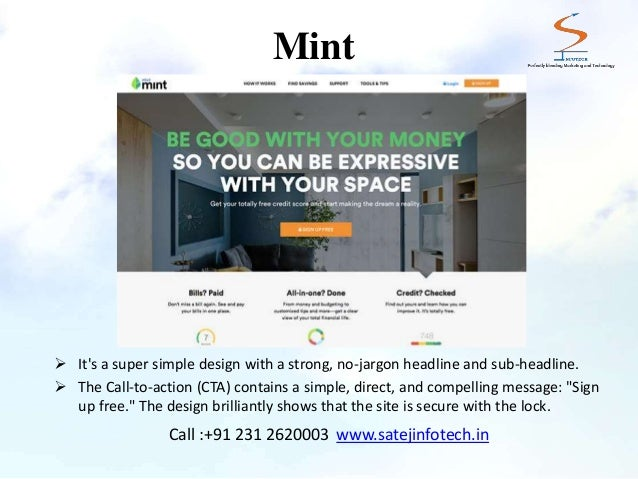 10 Examples of Best Homepage Designs