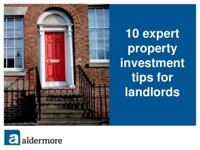 10 expert property investment tips for landlords